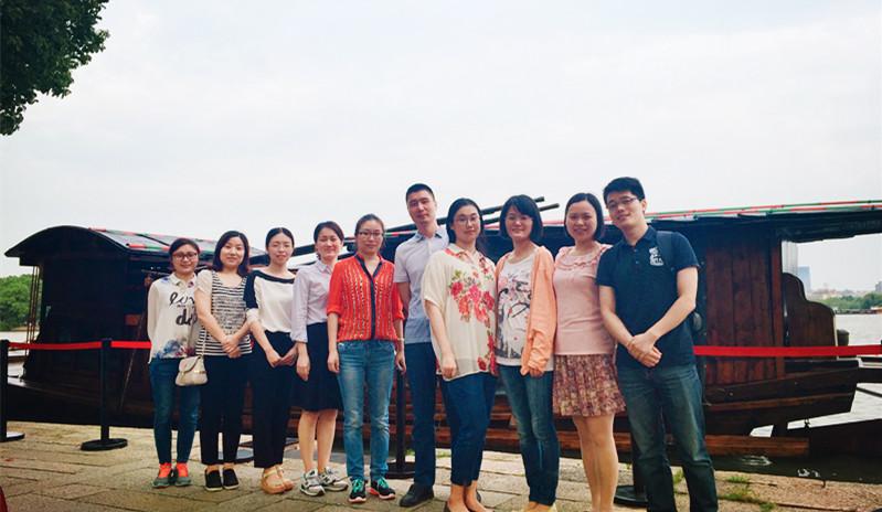 一路艰辛 不忘初心——无锡市统计局团青年南湖参观学习